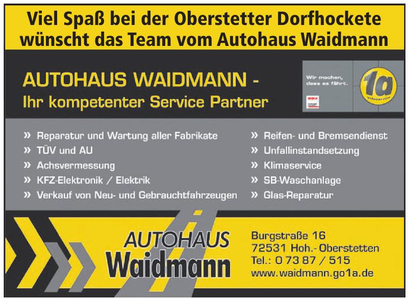 Autohaus Waidmann