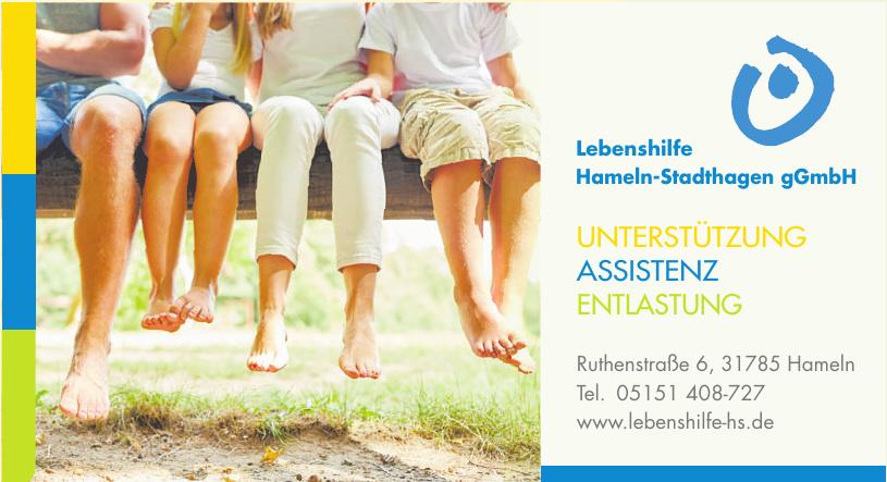 Lebenshilfe Hameln-Stadthagen gGmbH