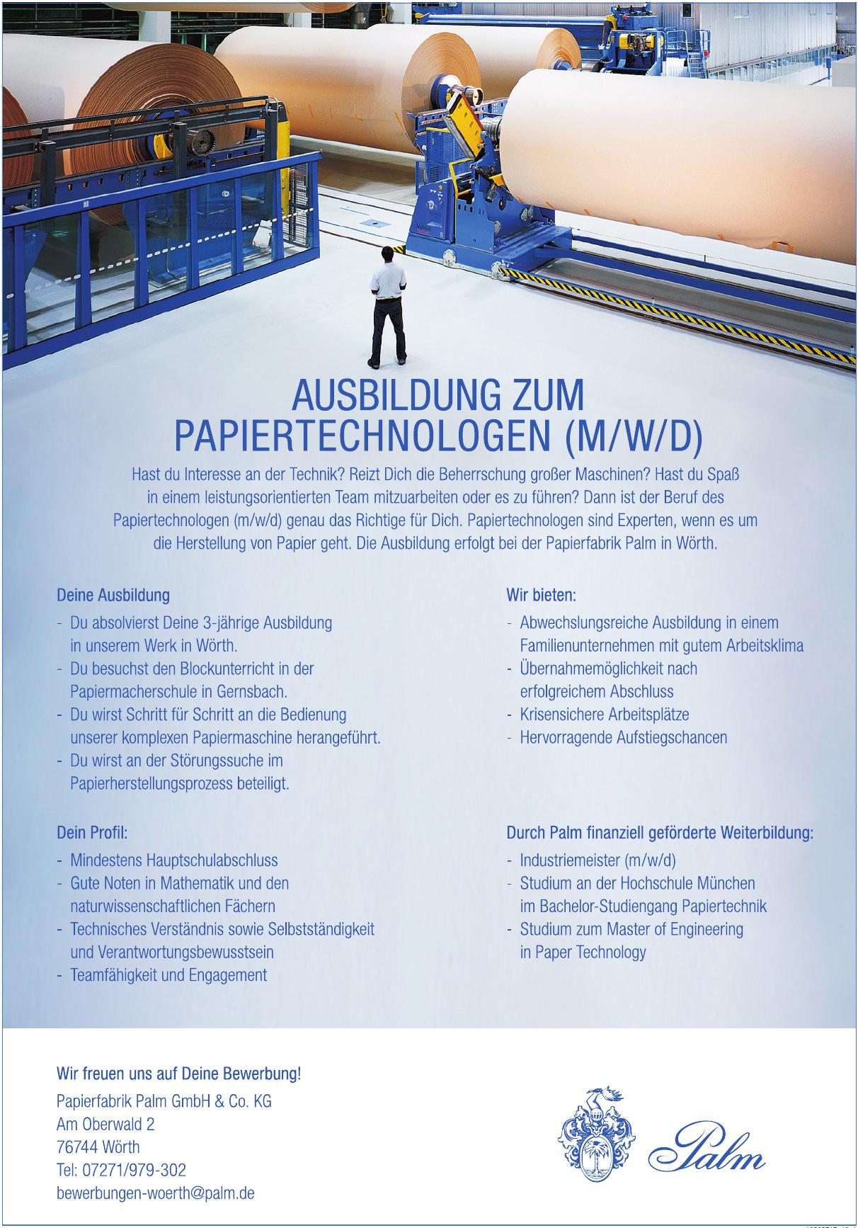 Papierfabrik Palm GmbH & Co. KG