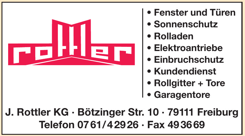 J. Rottler KG