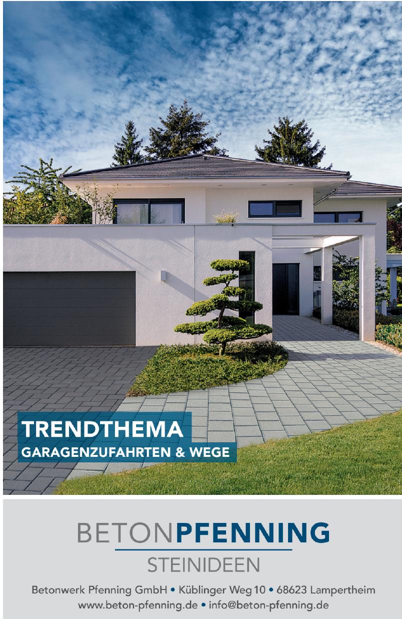 Betonwerk Pfenning GmbH