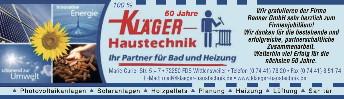 Kläger Haustechnik  Jörn Kläger e.K.