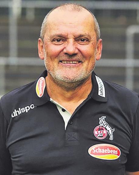 Trainer der Frauenmannschaft des 1. FC Köln: Willi Breuer. Foto: Schaebens