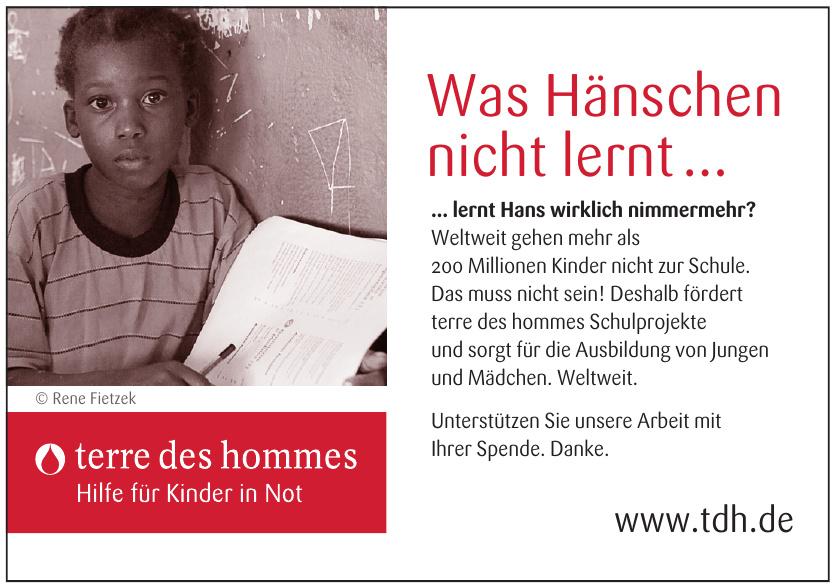 terre des hommes Deutschland e. V.