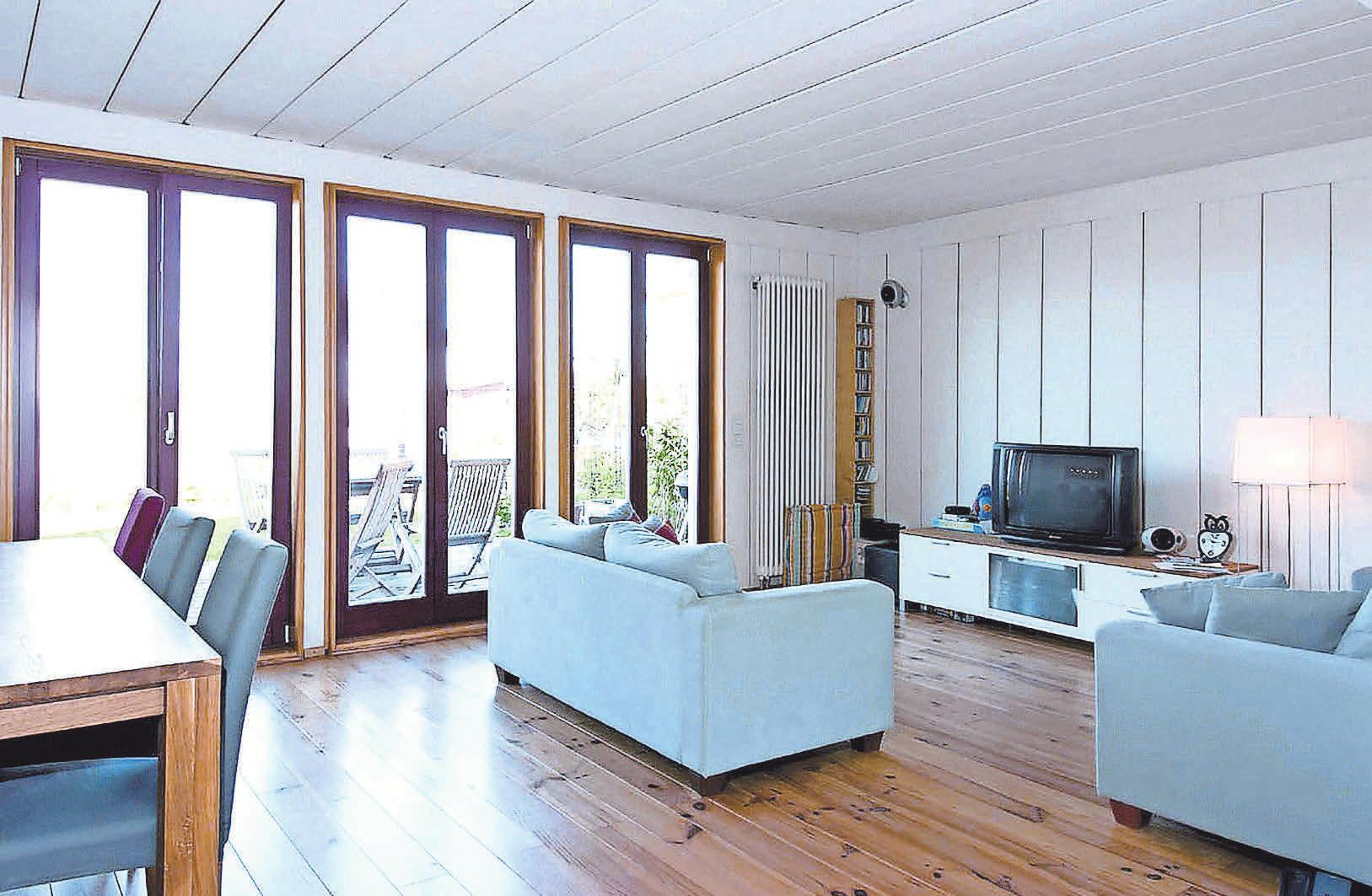 Holz im Innenbereich wirkt sich nachweislich positiv auf das menschliche Wohlbefinden aus. Foto: Holzabsatzfonds