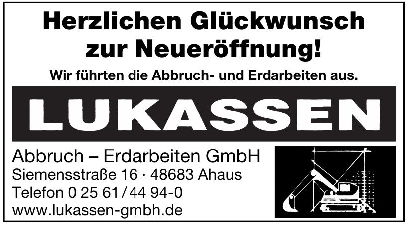 Lukassen Abbruch – Erdarbeiten GmbH