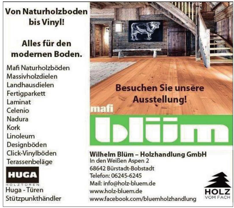 Wilhelm Blüm – Holzhandlung GmbH
