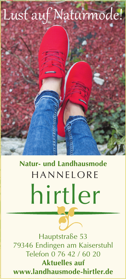 Hirtler Natur- und Landhausmode Hannelore