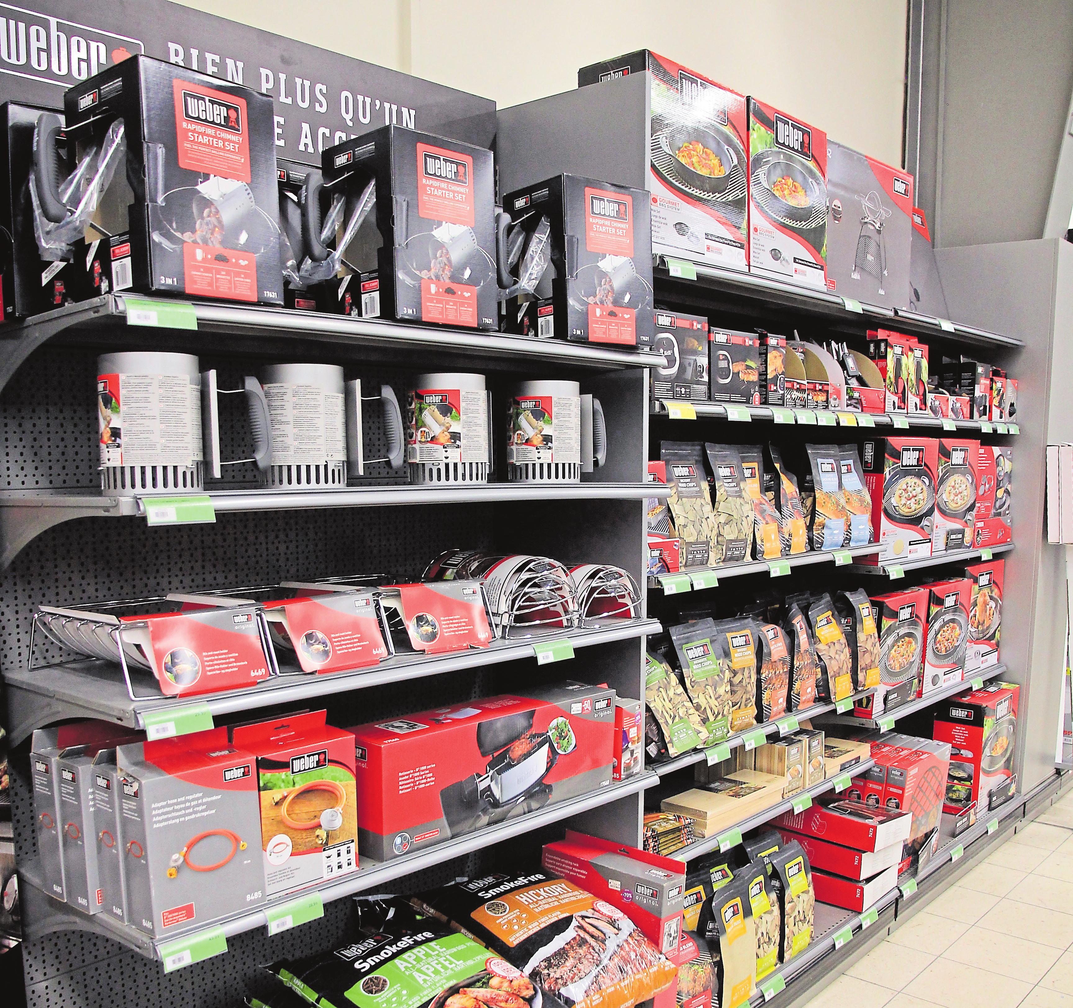 Im Bereich Ausstattung und Zubehör ist Weber spitze, wodurch sich für Grillen ganz neue Möglichkeiten eröffnen.