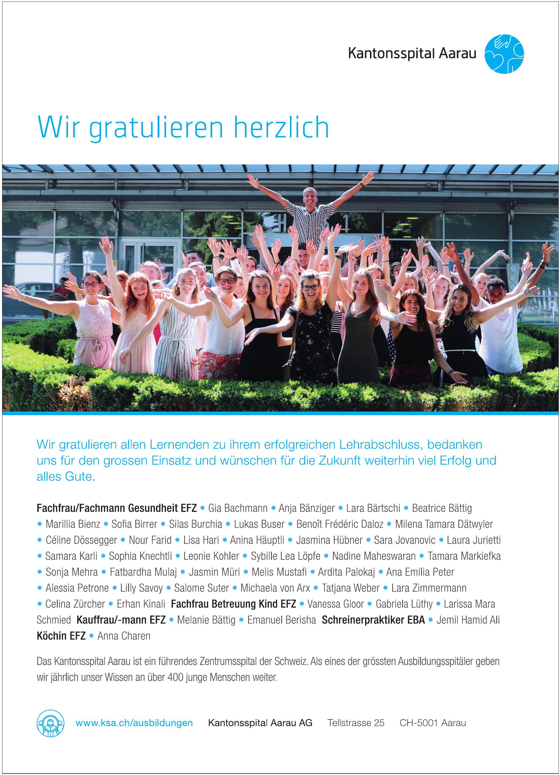 Kantonspital Aarau AG