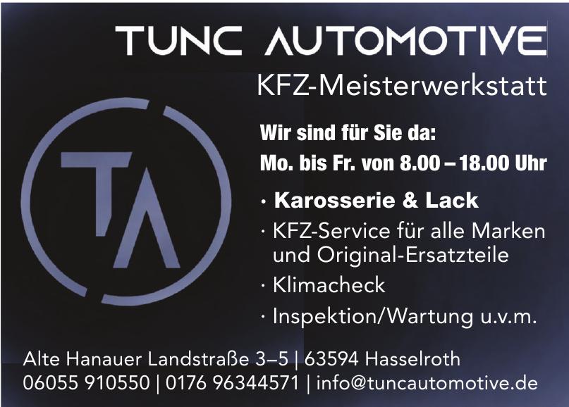 Tunc Automotive