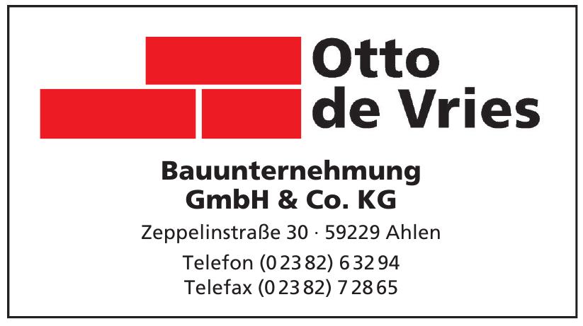 Otto de Vries Bauunternehmung GmbH & Co. KG
