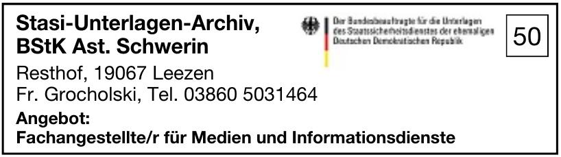 Stasi-Unterlagen-Archiv