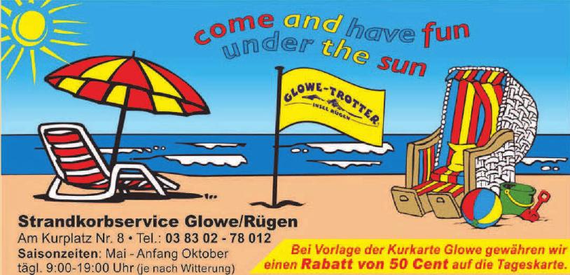 Strandkorbservice Glowe/Rügen