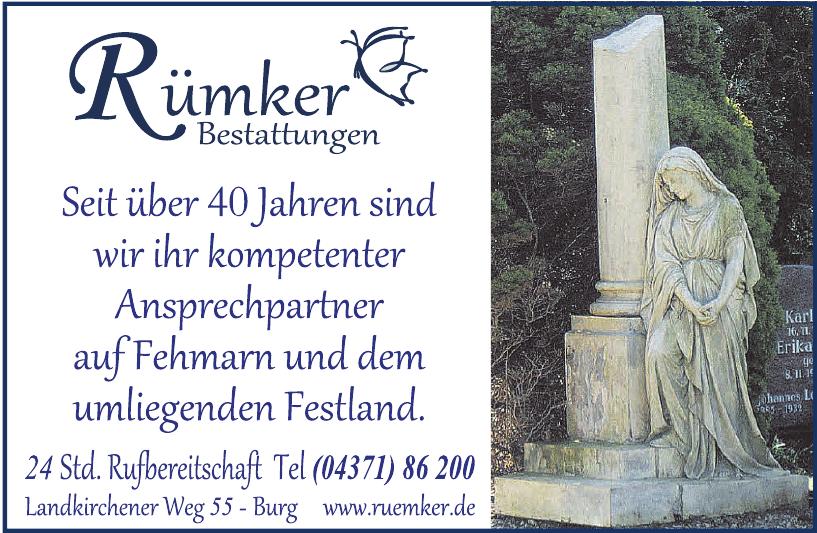 Rümker GmbH Bestattungsinstitut