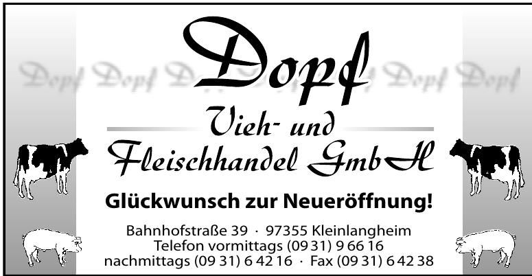 Dopf Vieh- und Fleischhandel GmbH