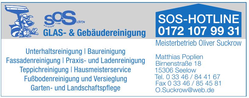 SOS-GLAS- & Gebäudereinigung
