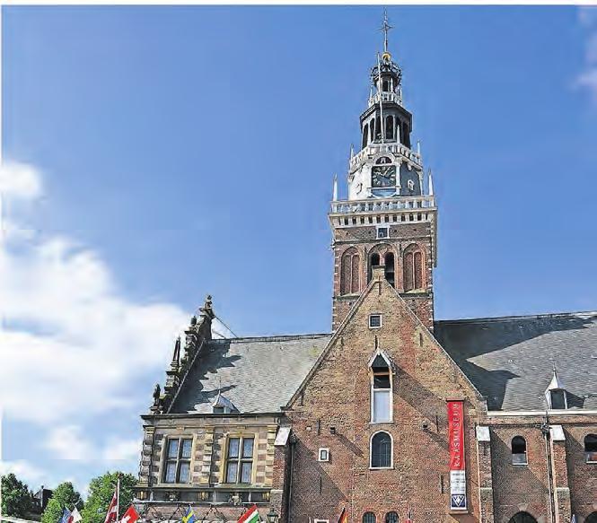 Ausflugsmöglichkeit zum weltberühmten Käsemarkt in Alkmaar. Foto: Alkmaar Marketing