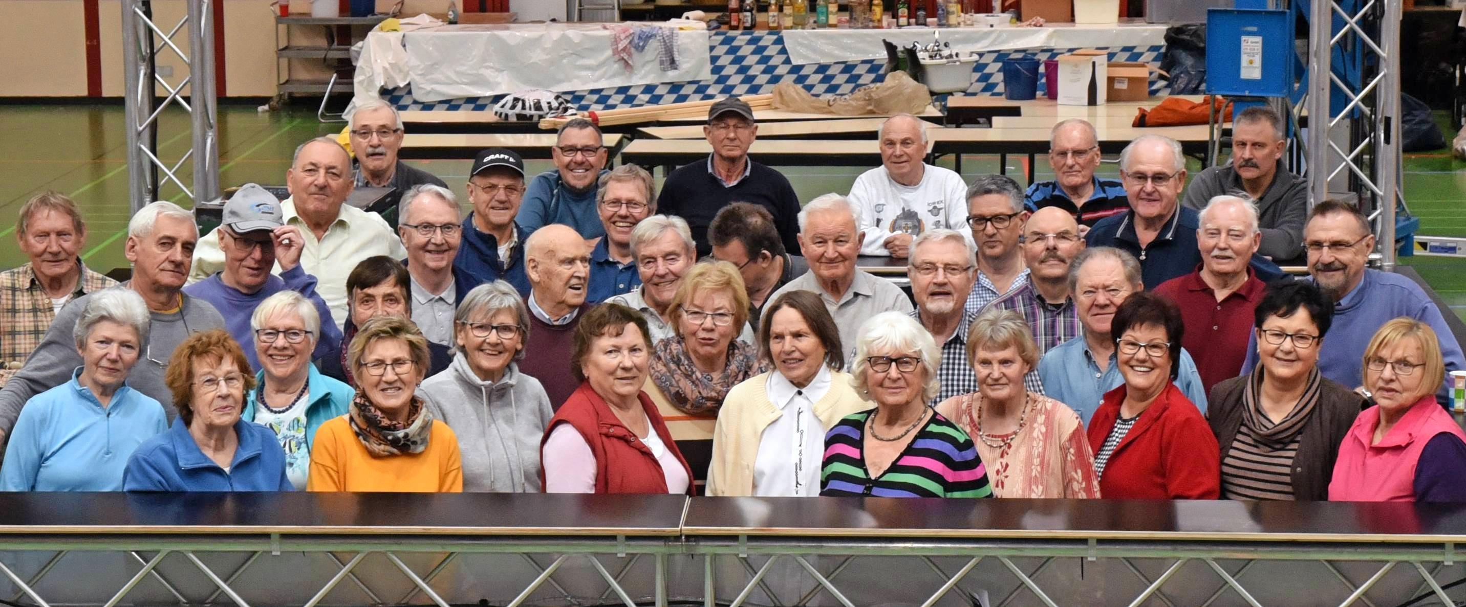 Ohne Senioren kein Unterländer Fasching: Ab kommenden Mittwoch ist in der Ballei wieder ein großes Team der Sport-Union im Einsatz. Foto: Karl-Heinz Leitz