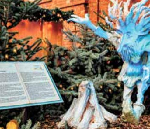 Märchenfiguren und Weihnachtsdekorationen bezaubern in Buxtehude
