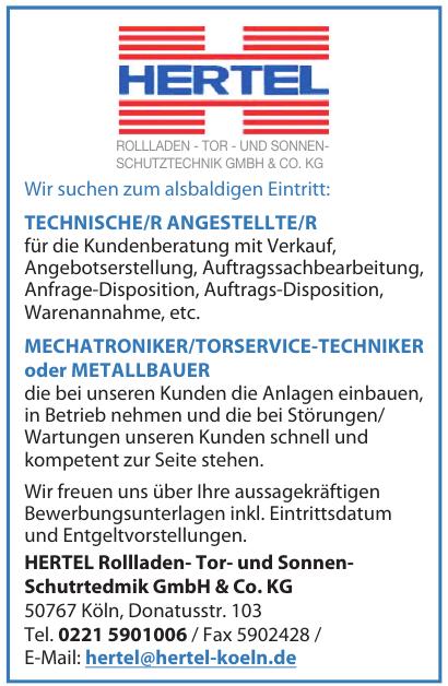 Hertel Rollladen- Tor- und Sonnen-Schutrtedmik GmbH & Co. KG