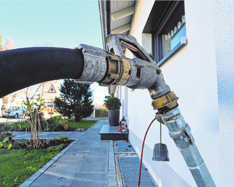 Neues Öl für die Heizung? Das Bundesamt für Wirtschaft und Ausfuhrkontrolle fördert den Neueinbau von Ölheizungen seit 2020 nicht mehr. FOTO: KARL-JOSEF HILDENBRAND, MAG