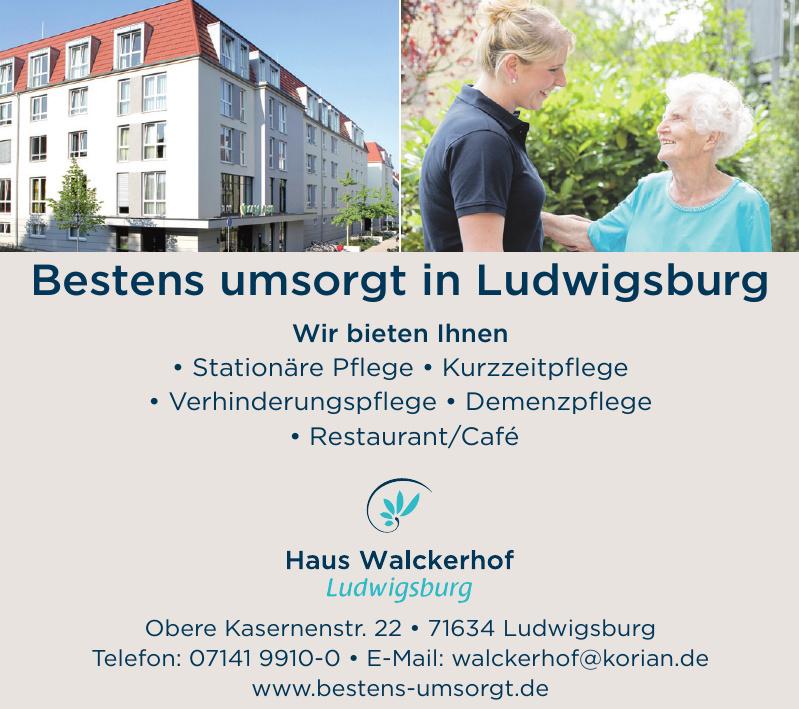 Haus Walckerhof Ludwigsburg