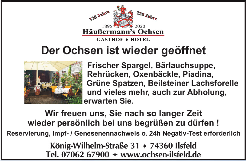 Häußermann's Ochsen