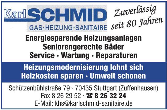 Karl Schmid