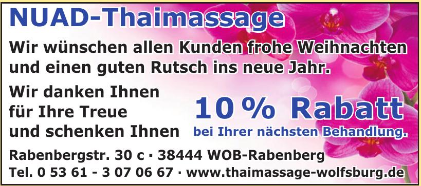 NUAD-Thaimassage