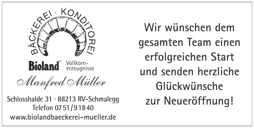 Manfred Müller Bäckerei Konditorei