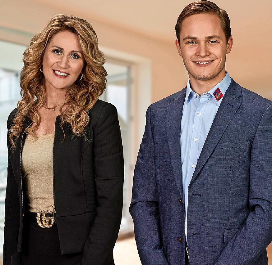 Führen den wachsenden Handwerksbetrieb mit viel Leidenschaft: Angelika Kiefer mit ihrem Sohn Kevin Kiefer
