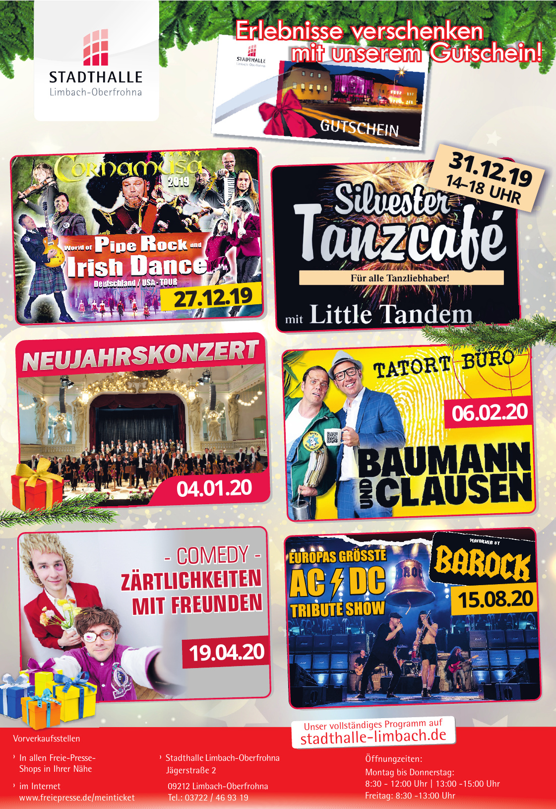 Stadthalle Limbach-Oberfrohna