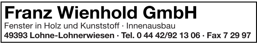 Franz Wienhold GmbH