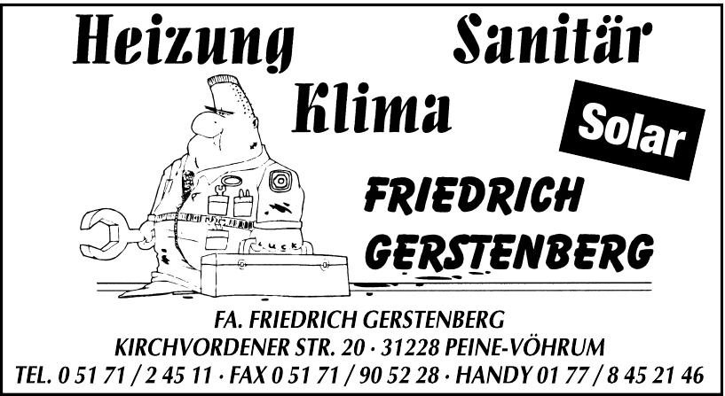 Fa. Friedrich Gerstenberg