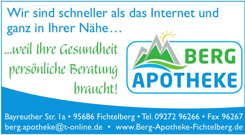 Berg Apotheke Fichtelberg