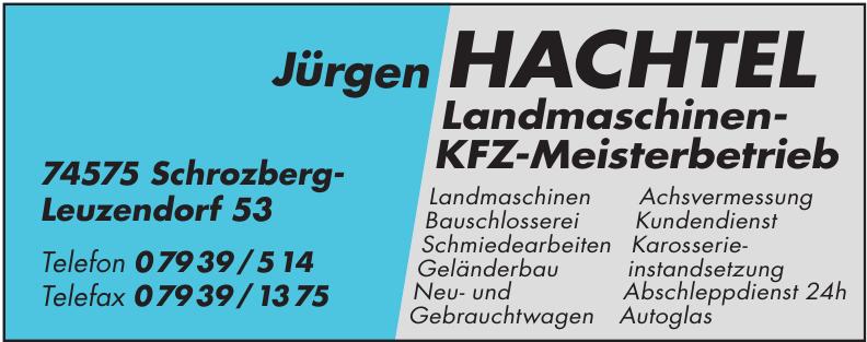 Jürgen Hachtel