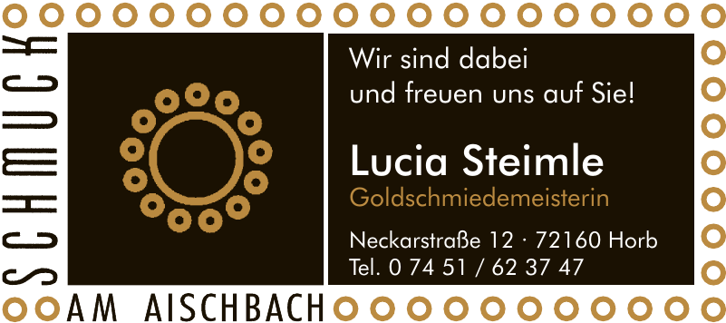Lucia Steimle Goldschmiedemeisterin