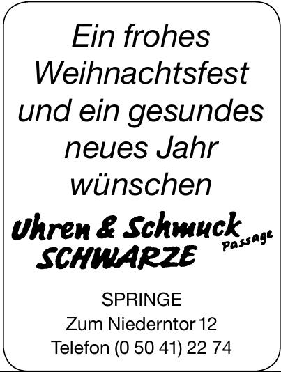 Uhren & Schmuck Schwarze