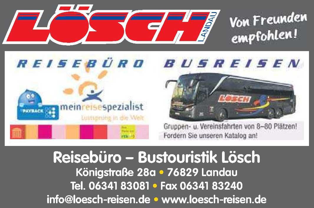 Reisebüro - Bustouristik Lösch
