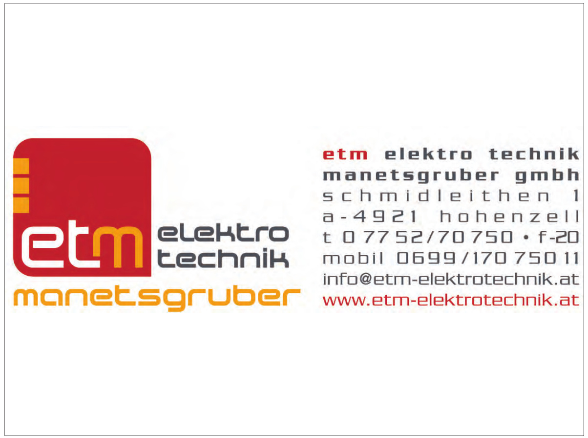 ETM Elektrotechnik Manetsgruber GmbH