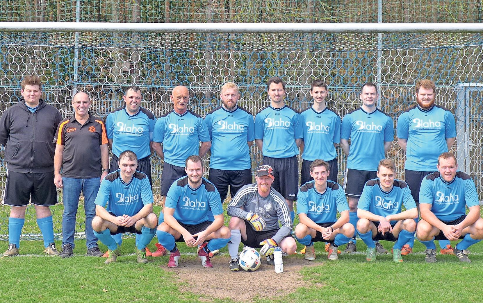 Die zweite Mannschaft des SV Schreez schloss die Saison in der B-Klasse Bayreuth 6 mit einem achten Tabellenplatz ab. Fotos: SV Schreez