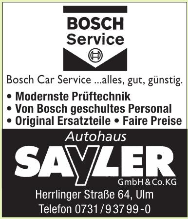 Autohaus Sayler GmbH & Co.KG