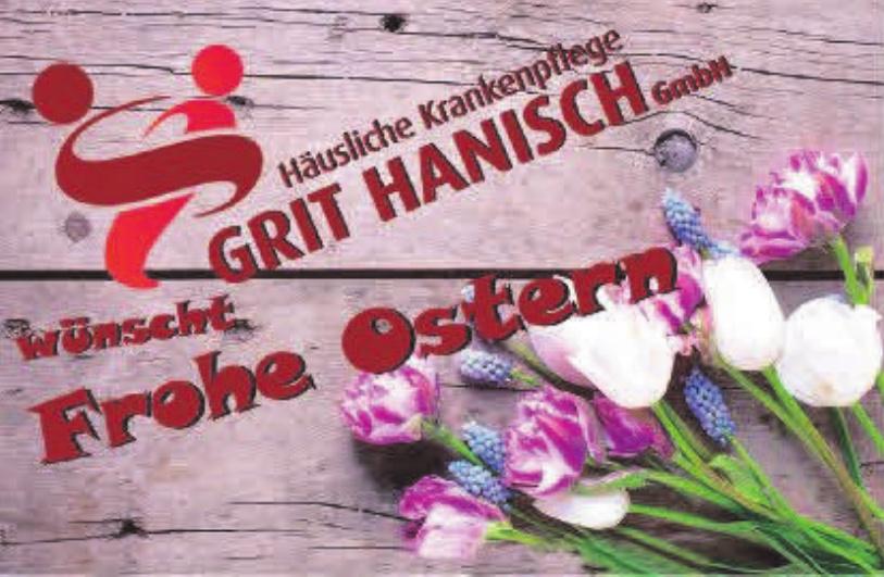 Häusliche Krankenpflege Grit Hanisch GmbH
