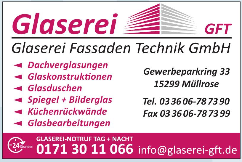Glaserei Fassaden Technik GmbH