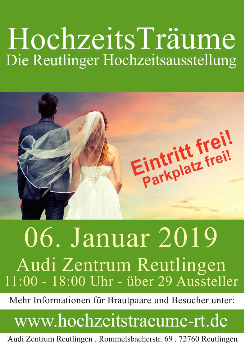 HochzeitsTräume - Die Reutlinger Hochzeitsausstellung