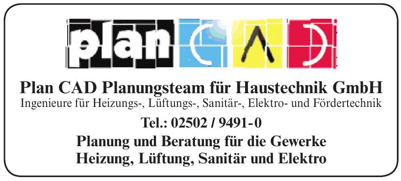 Plan CAD Planungsteam für Haustechnik GmbH