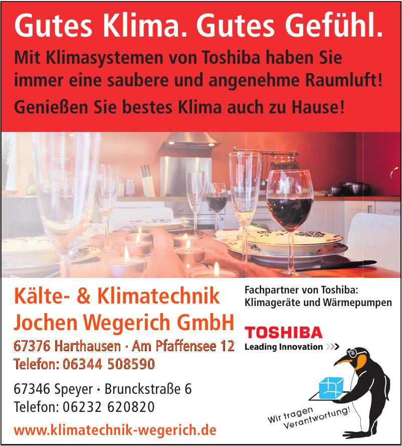 Kälte- & Klimatechnik - Jochen Wegerich GmbH