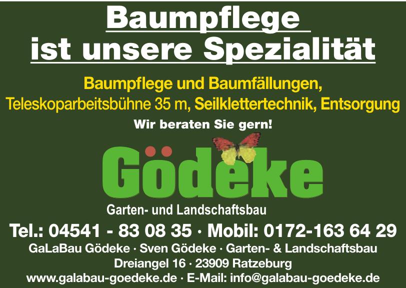 GaLaBau Gödeke · Sven Gödeke · Garten- & Landschaftsbau