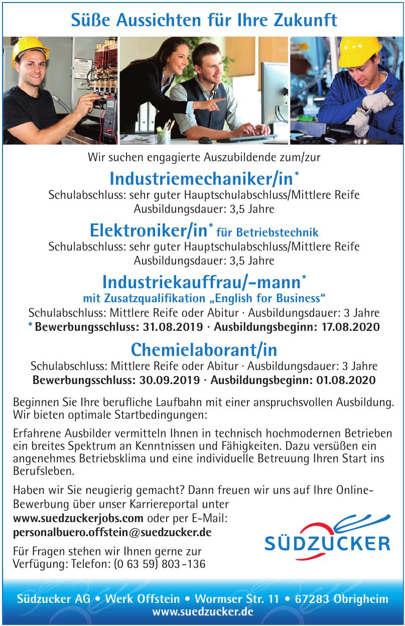 Südzucker AG - Werk Offstein